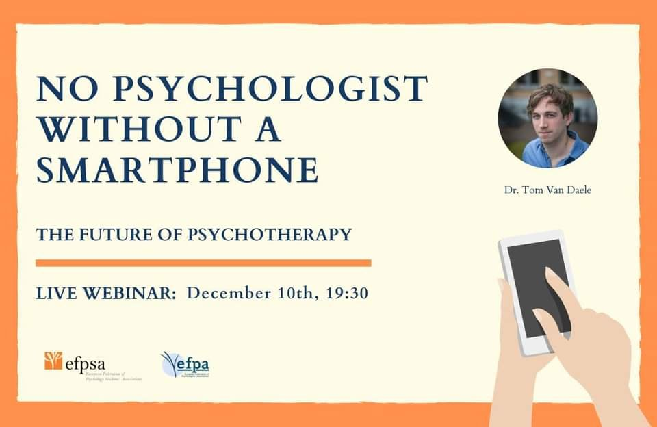 "Webinar ""No Psychologist without a smartphone"""