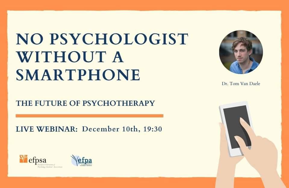 "Webinar ""No Psychologist without a smartphone"""