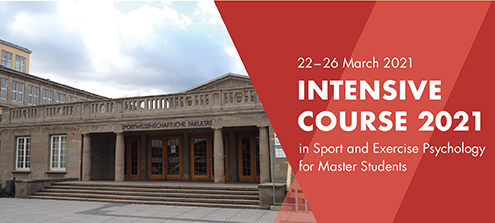 Intensive Course of the European Masters in Sport and Exercise Psychology